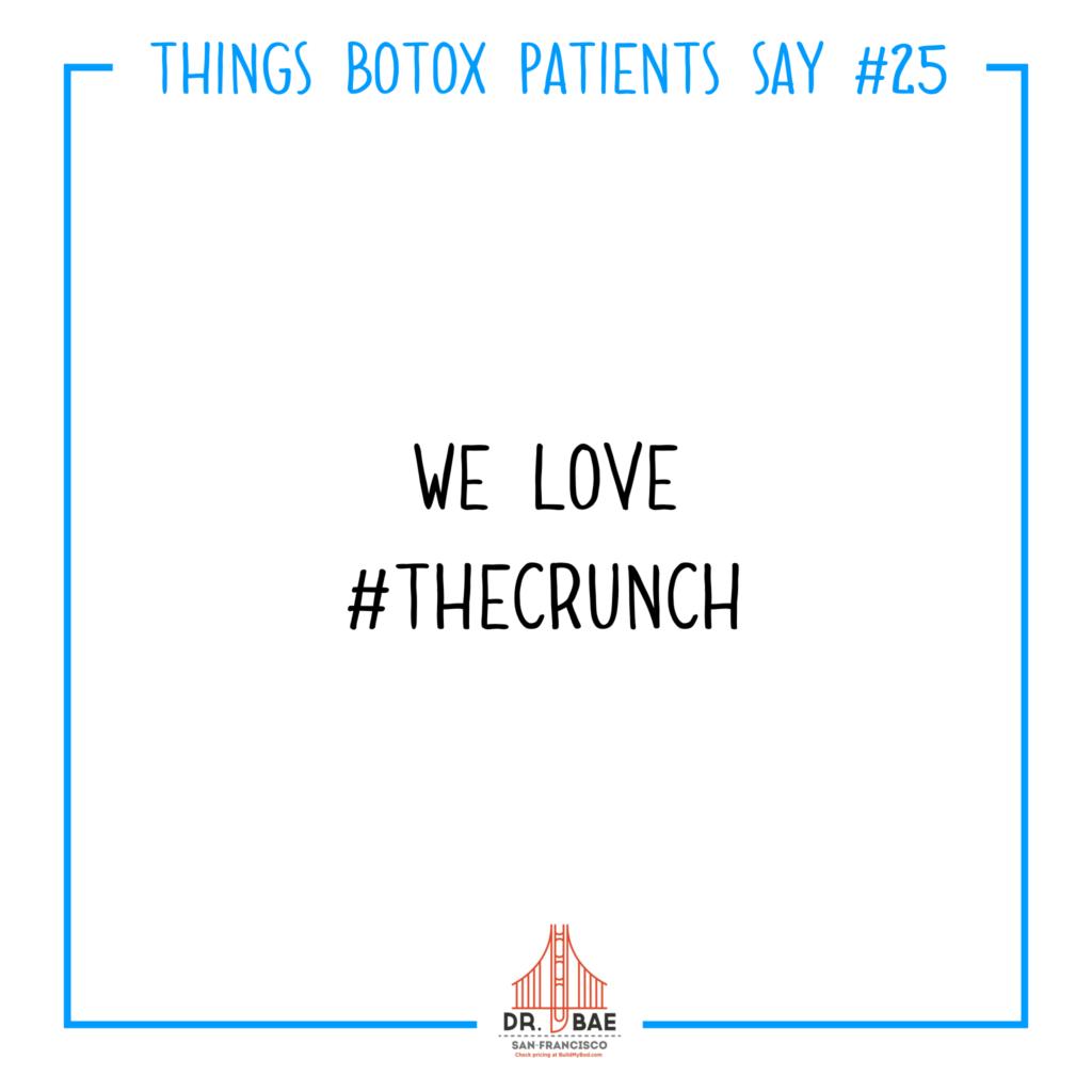 #thecrunch