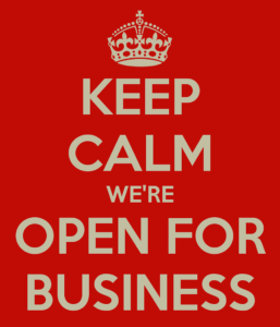 reopen for business