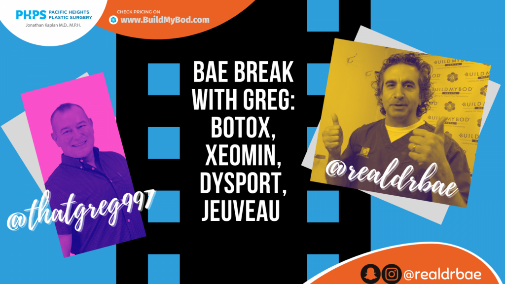 Botox, Xeomin, Dysport and Jeuveau