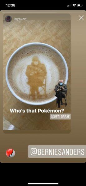 Bernie latte